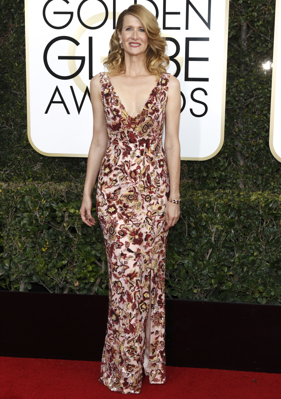 wenn30702628  bitchy | Emma Stone in star-covered Valentino on the Golden Globes: twee or candy? wenn30702628