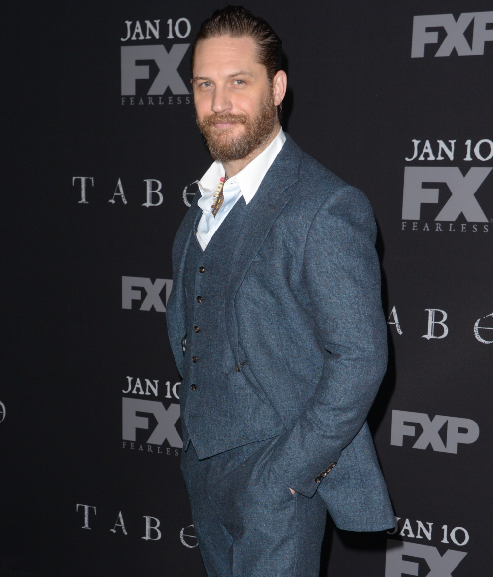 wenn30710487  bitchy | Do you know that Tom Hardy forged himself as a biracial man in 'Taboo'? wenn30710487