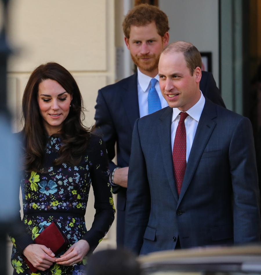 William Kate Harry Heads Together  bitchy | Will the Queen give Duchess Kate her first royal honor this yr? wenn307468151