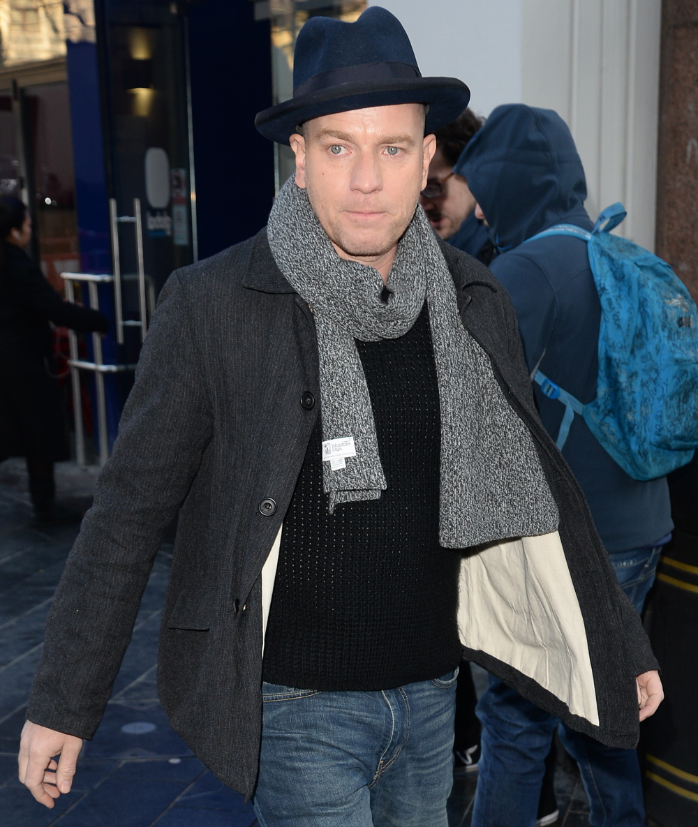 wenn30794742  bitchy | Ewan McGregor refused to have interaction with Piers Morgan concerning the Ladies's March wenn30794742