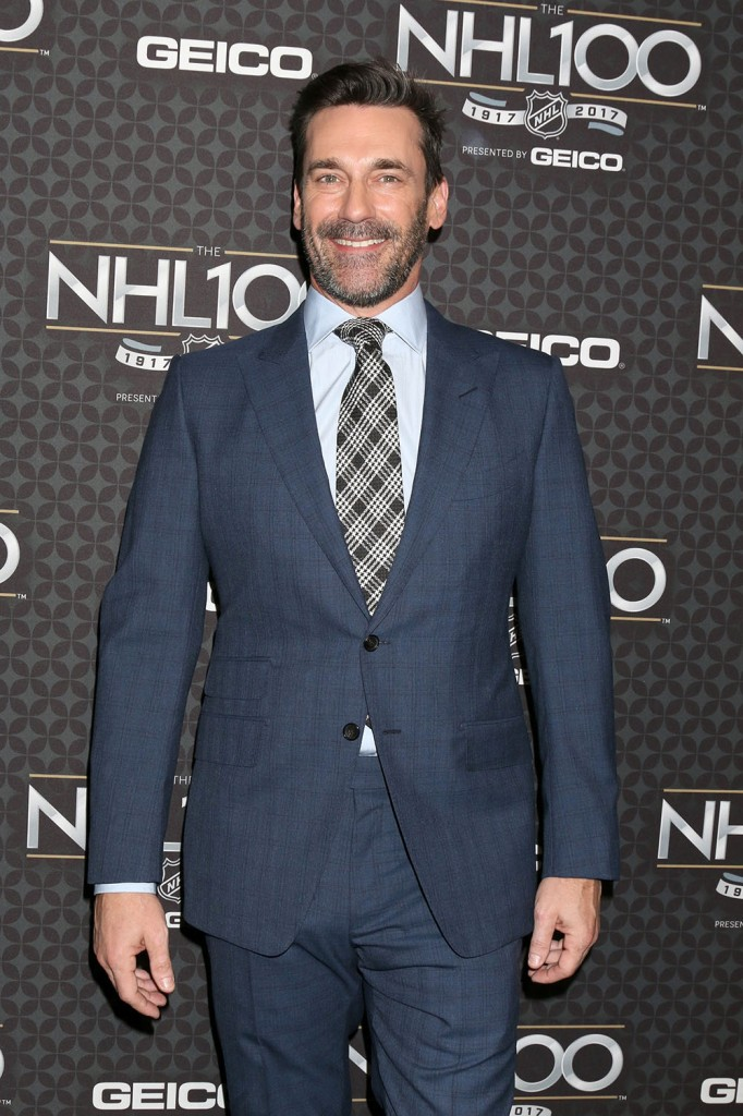 The NHL 100 Gala - Arrivals  bitchy | Jon Hamm doesn't watch outdated Mad Males episodes: 'it's at all times bizarre' wenn30814146