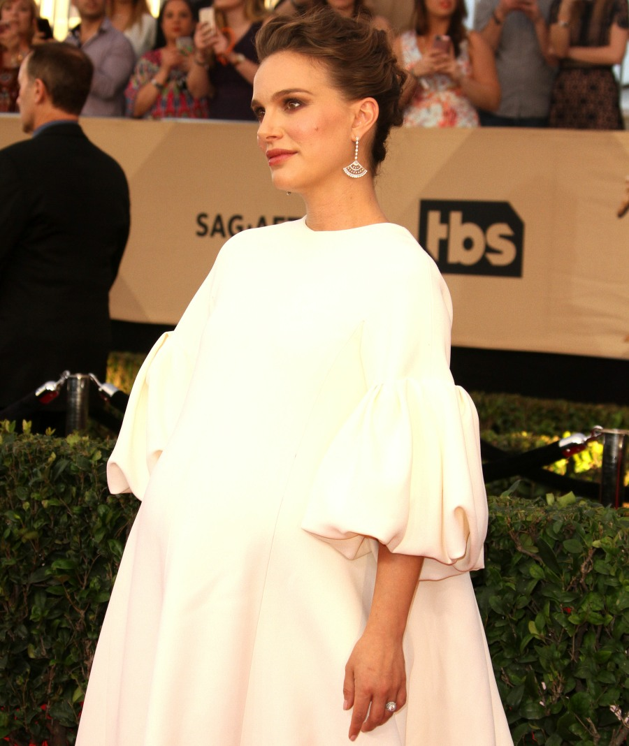 SAG Awards 2017 Arrivals  bitchy | Natalie Portman mainly eats stacks of pancakes earlier than leaving the home wenn30826418