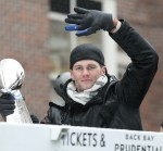 Tom Brady & The New England Patriots Celebrate Their Super Bowl Victory In Boston
