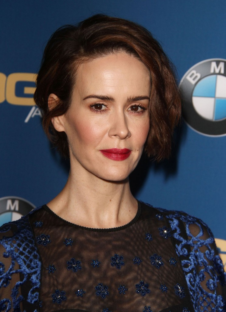 FFN_RIJ_DGA2017_020417_52304745  bitchy | Sarah Paulson in Andrew Gn on the DGA Awards: superb or frumpy? FFN RIJ DGA2017 020417 52304745