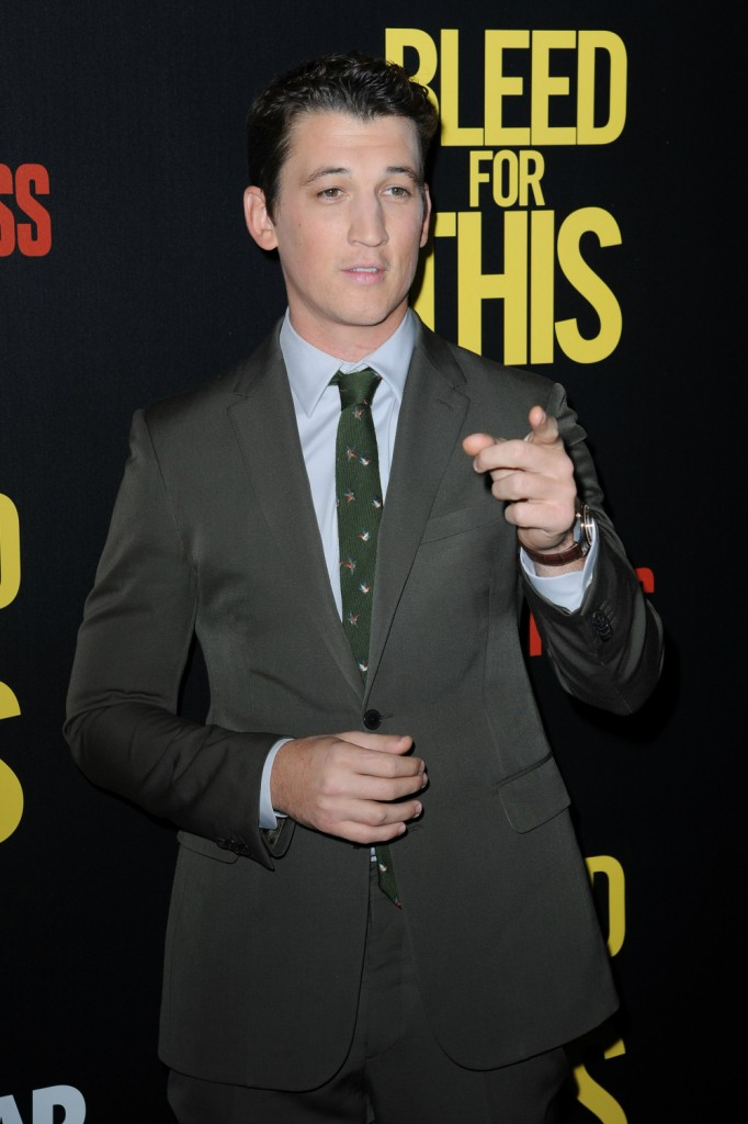 FFN_SMG_MNC76_BLEED_FOR_THIS_11142016_52231509  bitchy | Miles Teller denies report that he was too costly for La La Land FFN SMG MNC76 BLEED FOR THIS 11142016 52231509