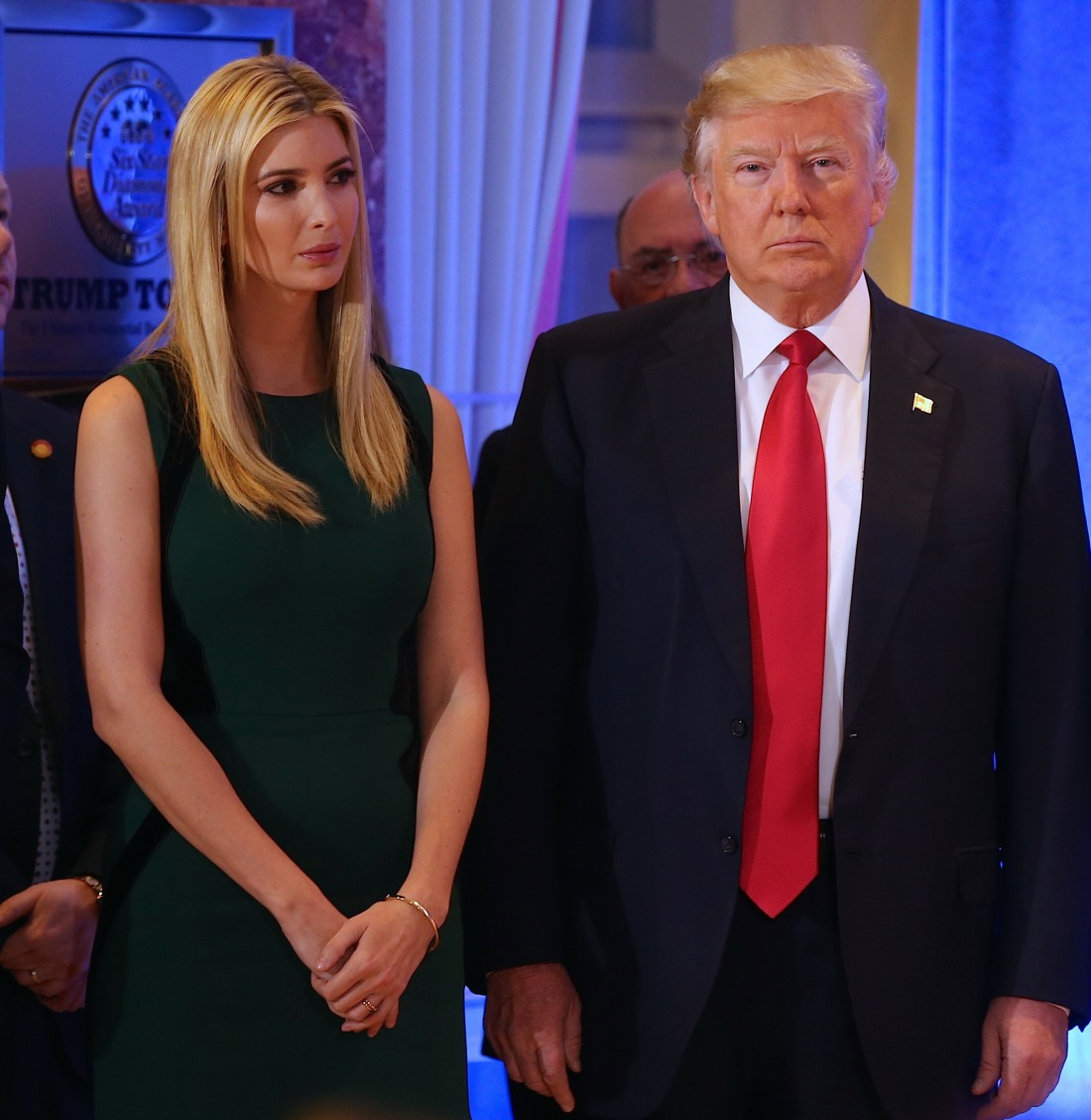 Donald Trump Holds A Press Conference At Trump Tower  bitchy | Ivanka Trump's clothes line will not be offered at Nordstrom, yay FFN Trump Donald CHP 011117 52280245