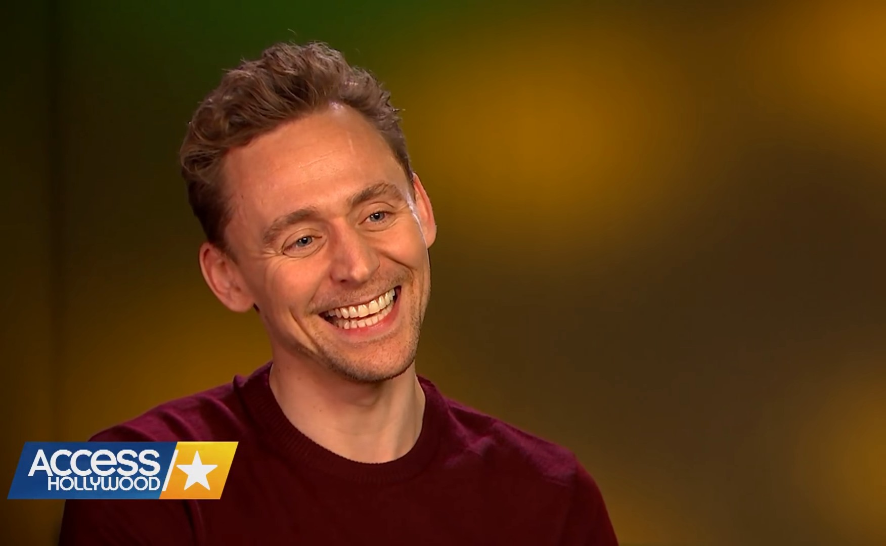 Tom Hiddleston is earnest: 'I've always tried to be honest about who I am'
