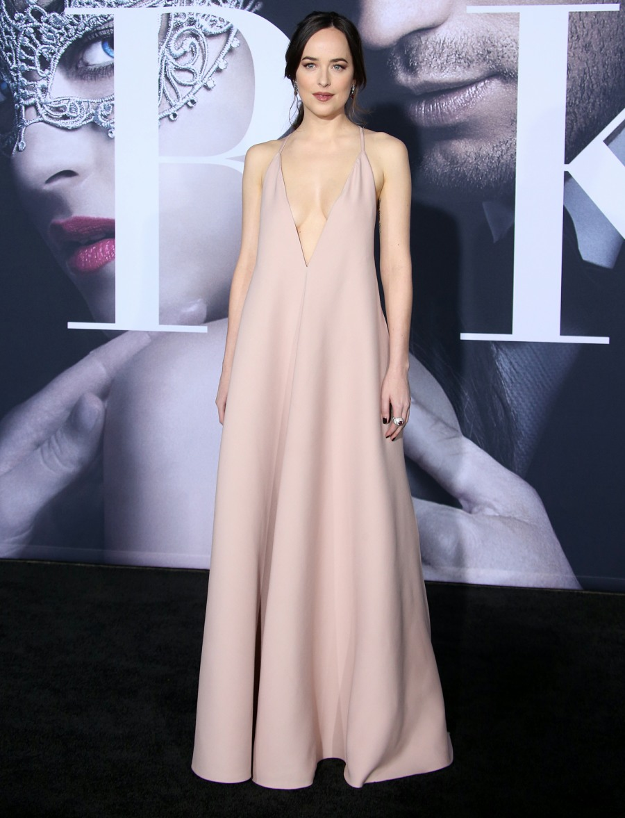 "Premiere Of Universal Pictures' ""Fifty Shades Darker""  bitchy 