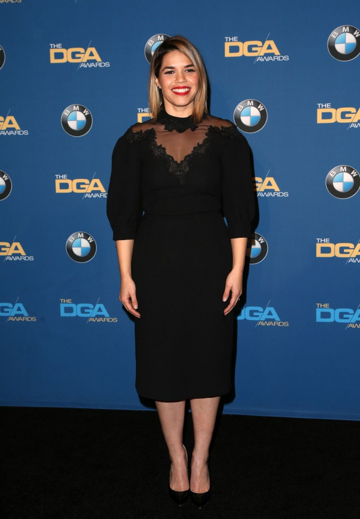wenn30856273  bitchy | Sarah Paulson in Andrew Gn on the DGA Awards: superb or frumpy? wenn30856273