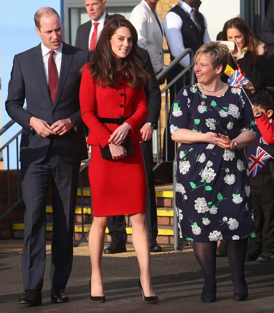The Duchess of Cambridge, Patron of Place2Be, accompanied by The Duke of Cambridge attends 'The Big Assembly' by Place2Be hosted at Mitchell Brook Primary School  bitchy | Duchess Kate: Kindness 'is simply as necessary as excelling at maths or sport' wenn30860058