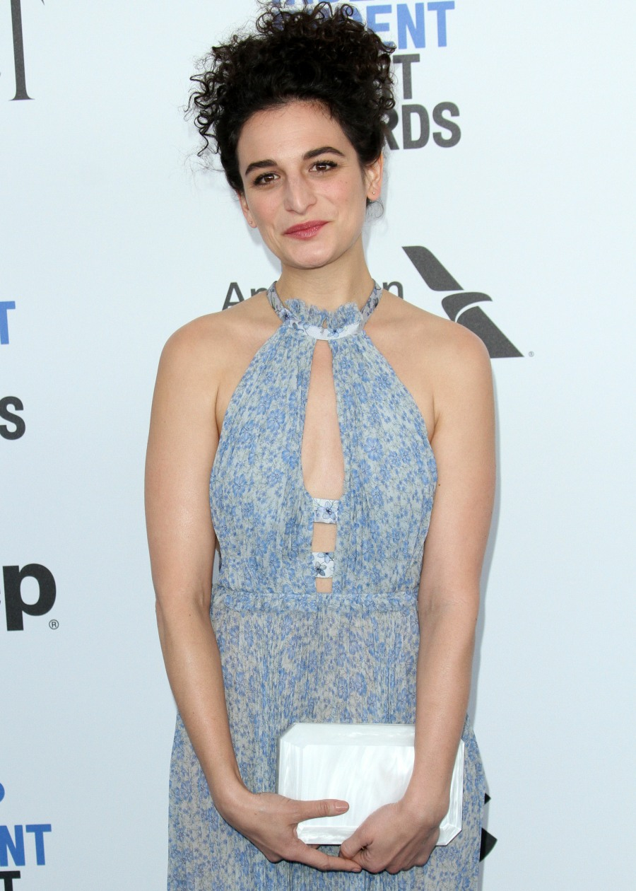 Jenny Slate in Luisa Beccaria at the Spirit Awards ...