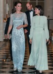 Prince William & Kate Middleton Attend A Royal Dinner In Paris