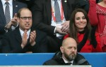 Prince William & Kate Middleton AttendThe Wales Vs. France RBS Six Nations Match