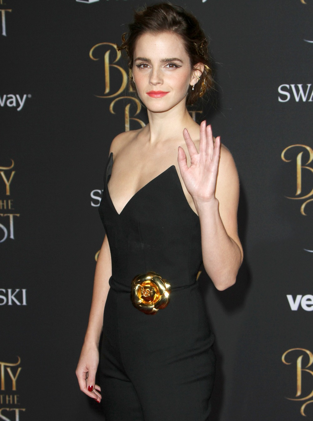 Emma Watson at The Beauty And The Beast Premiere in Hollywood