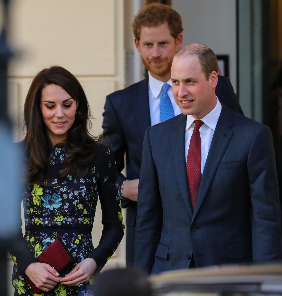 William Kate Harry Heads Together
