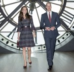 The Duke and Duchess of Cambridge visit the Musee D'Orsay during their state visit to Paris