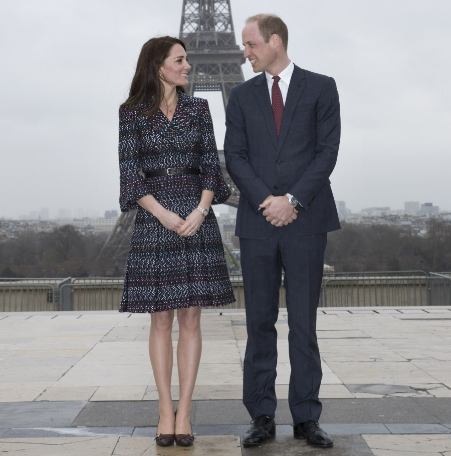 The Duke and Duchess of Cambridge attend a 'Les Voisins in Action' event during their state visit