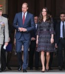 The Duke and Duchess of Cambridge visit Les Invalides military hospital