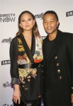 Chrissy Teigen, John Legend at the Sports Illustrated Swimsuit Edition Launch in NYC