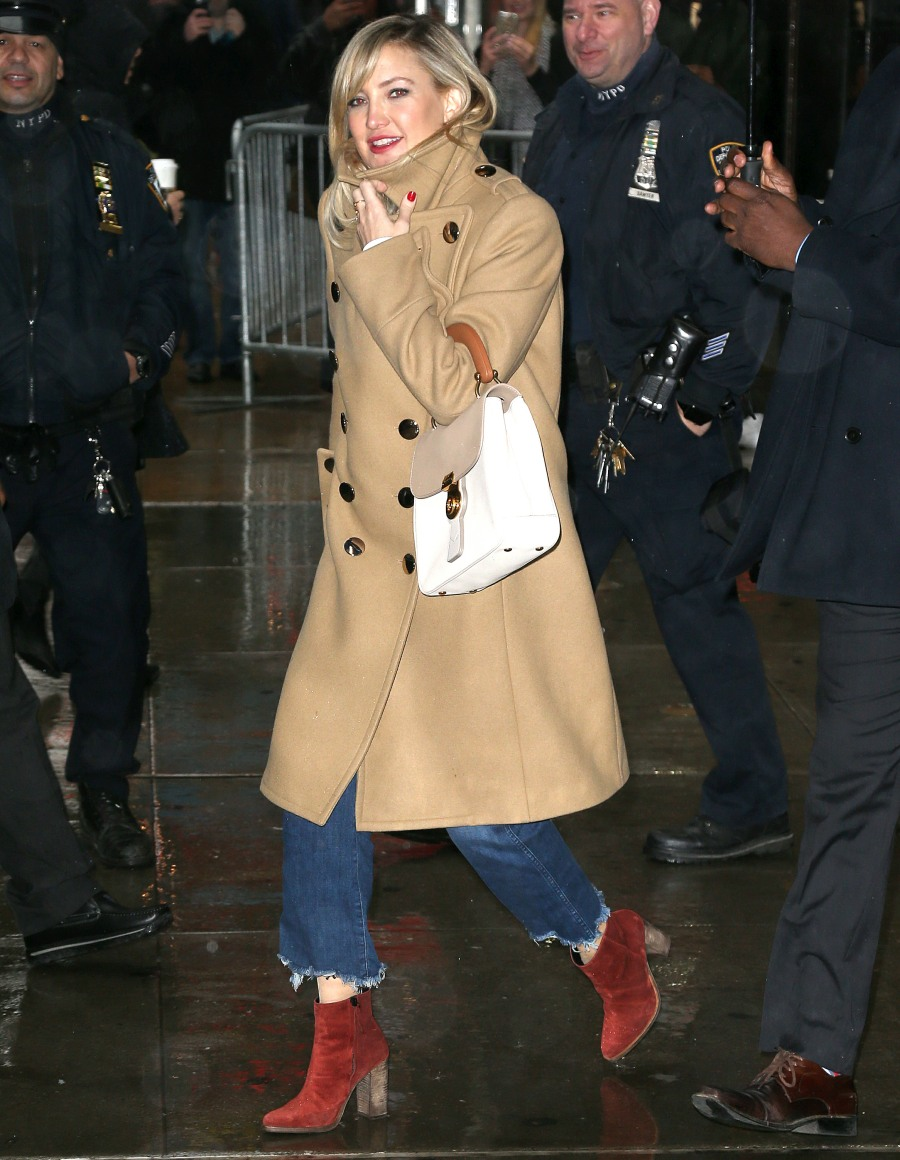 Celebrites On 'Good Morning America' In NYC
