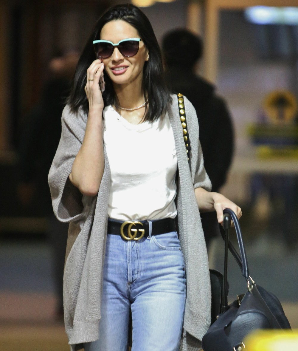 Olivia Munn Touches Down In Vancouver