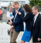 British Royal family at Fairford