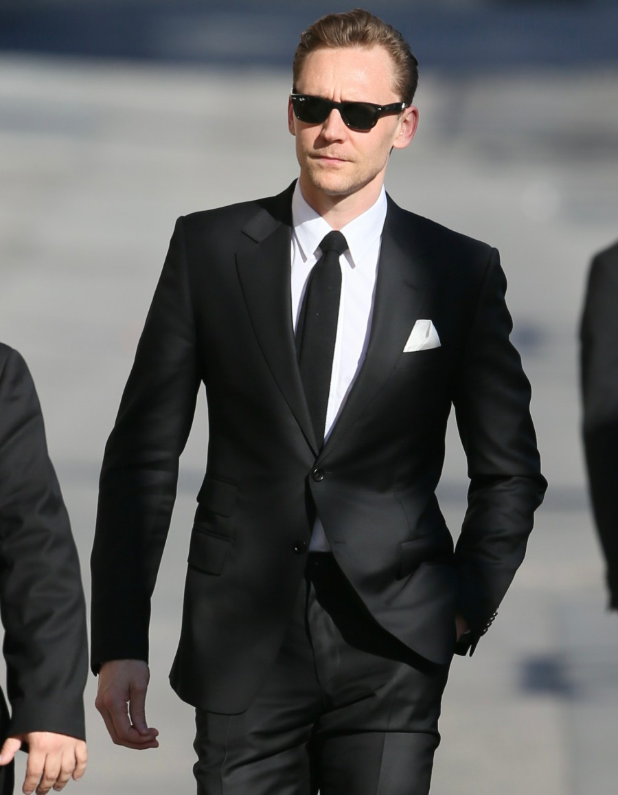 Tom Hiddleston seen arriving at the ABC studios