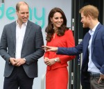 The Duke and Duchess of Cambridge and Prince Harry officially open The Global Academy in support of Heads Together