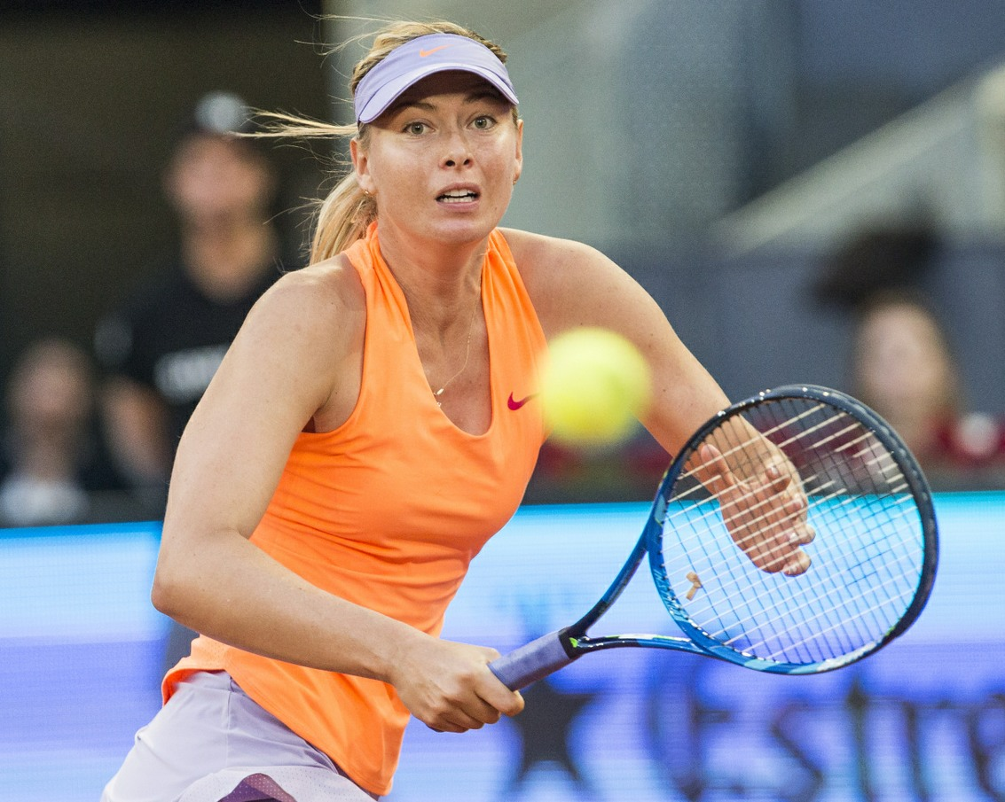 Maria Sharapova's big comeback from a doping suspension is not going so well