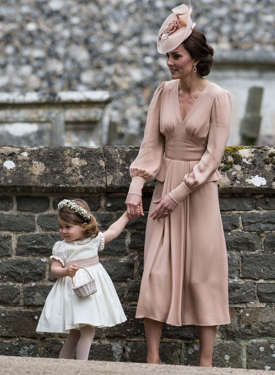 Duchess Kate wore blush McQueen to Pippa's wedding: dated or lovely?