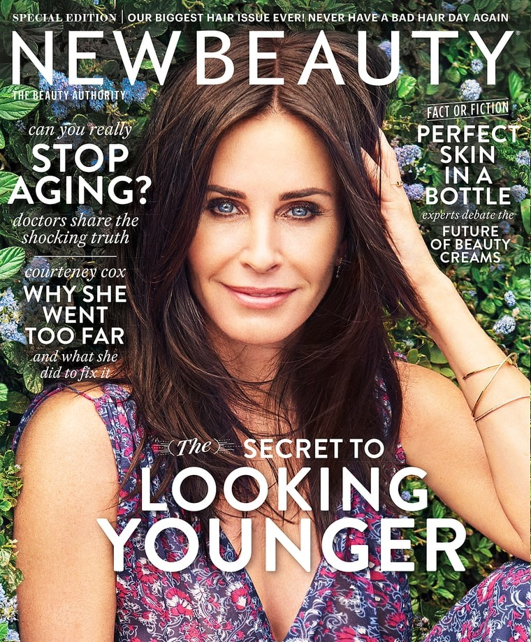 Courteney Cox: 'I've had all my fillers dissolved. I'm as natural as I can be'