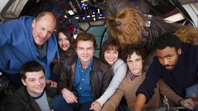 """The Han Solo movie is now in shambles, the directors were fired"" links"