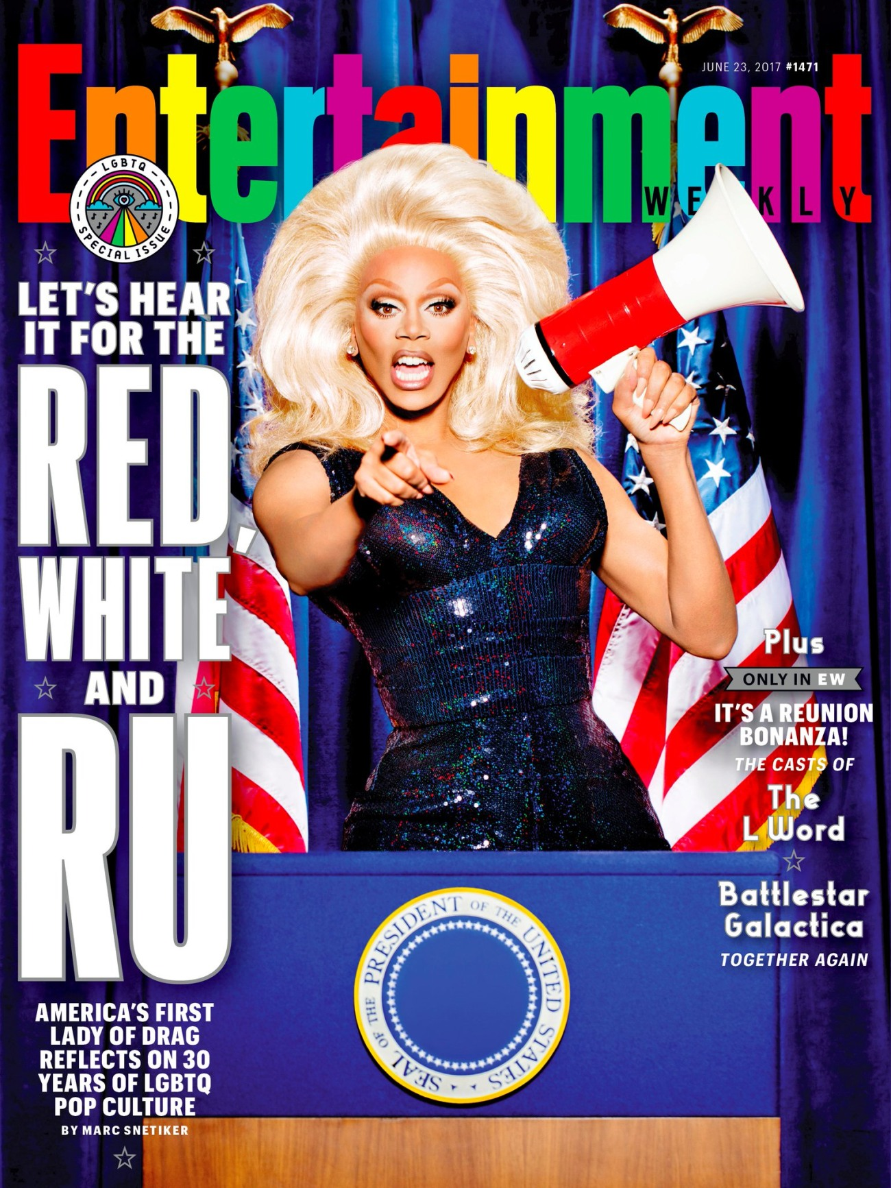 """RuPaul wants to see all LGBTQ people get more political"" links"