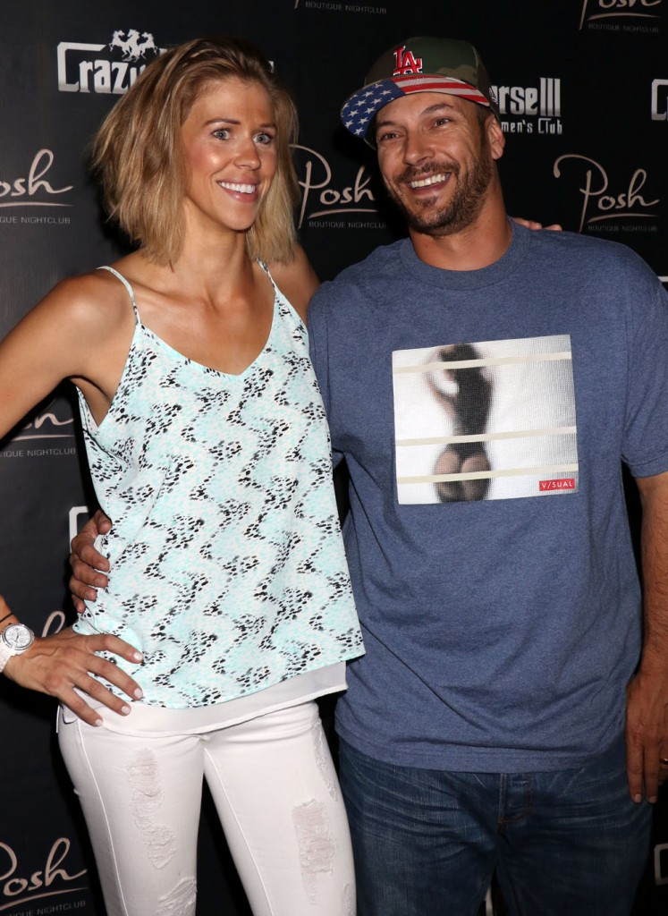 Kevin Federline hosts his Fantasy Football Draft Party and performs a DJ set