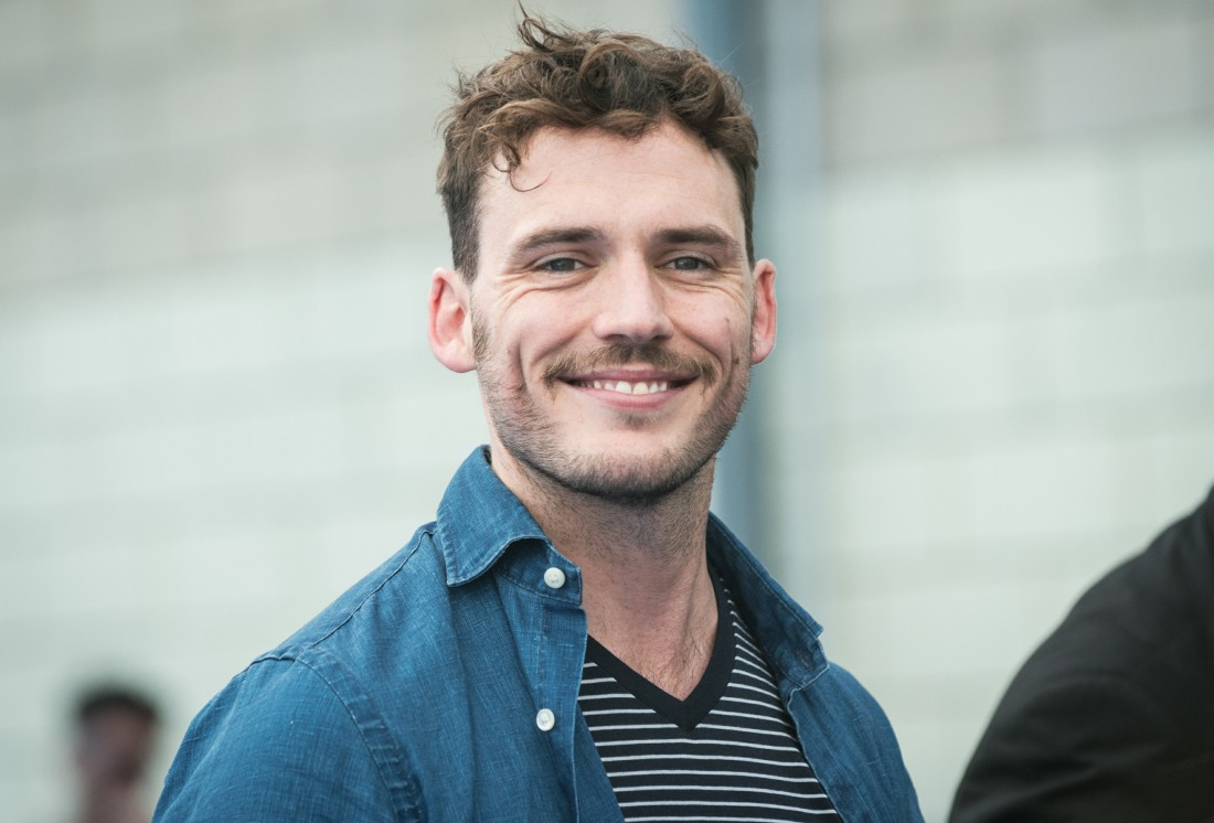 Sam Claflin attends a photocall during the Giffoni Film Festival 2016