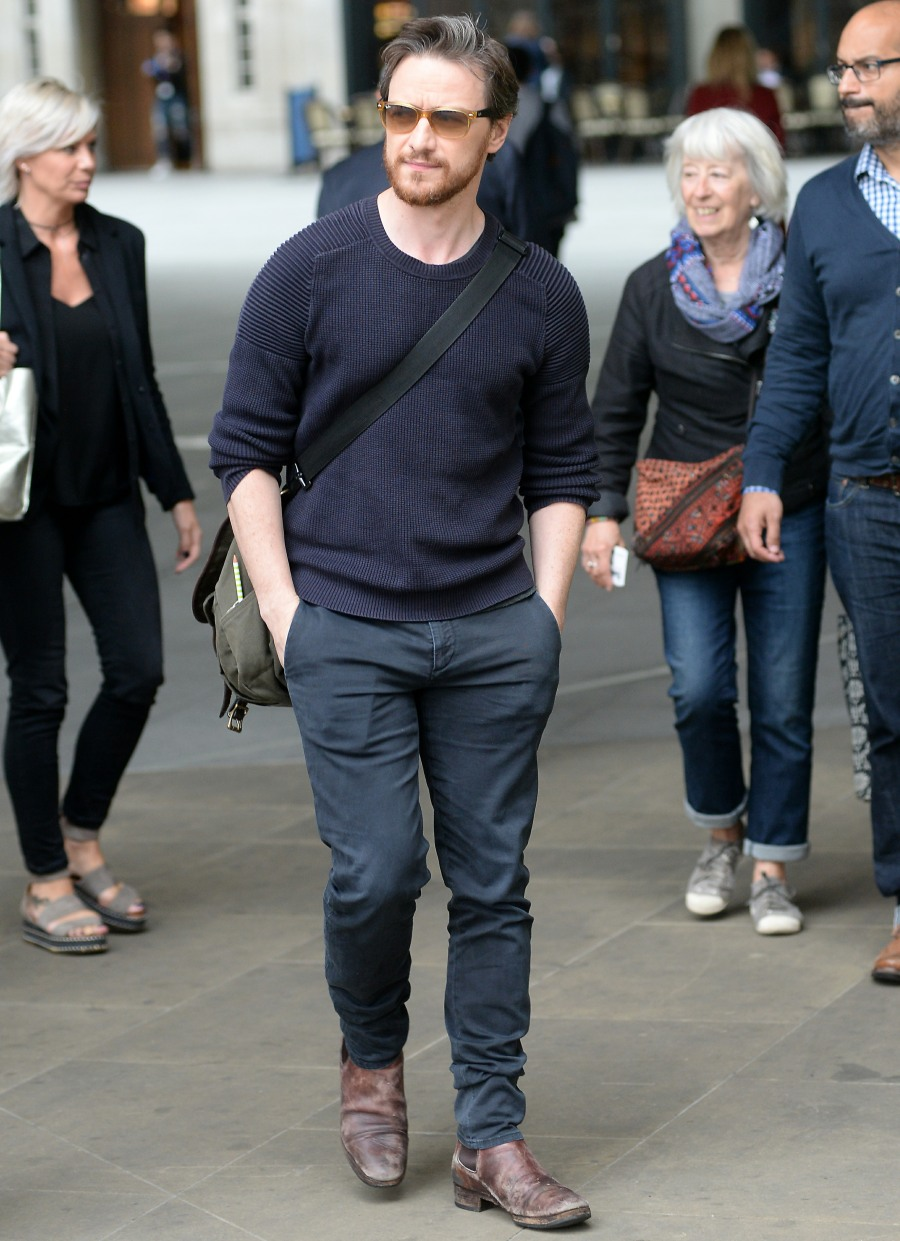 James McAvoy sighting at BBC Radio 1