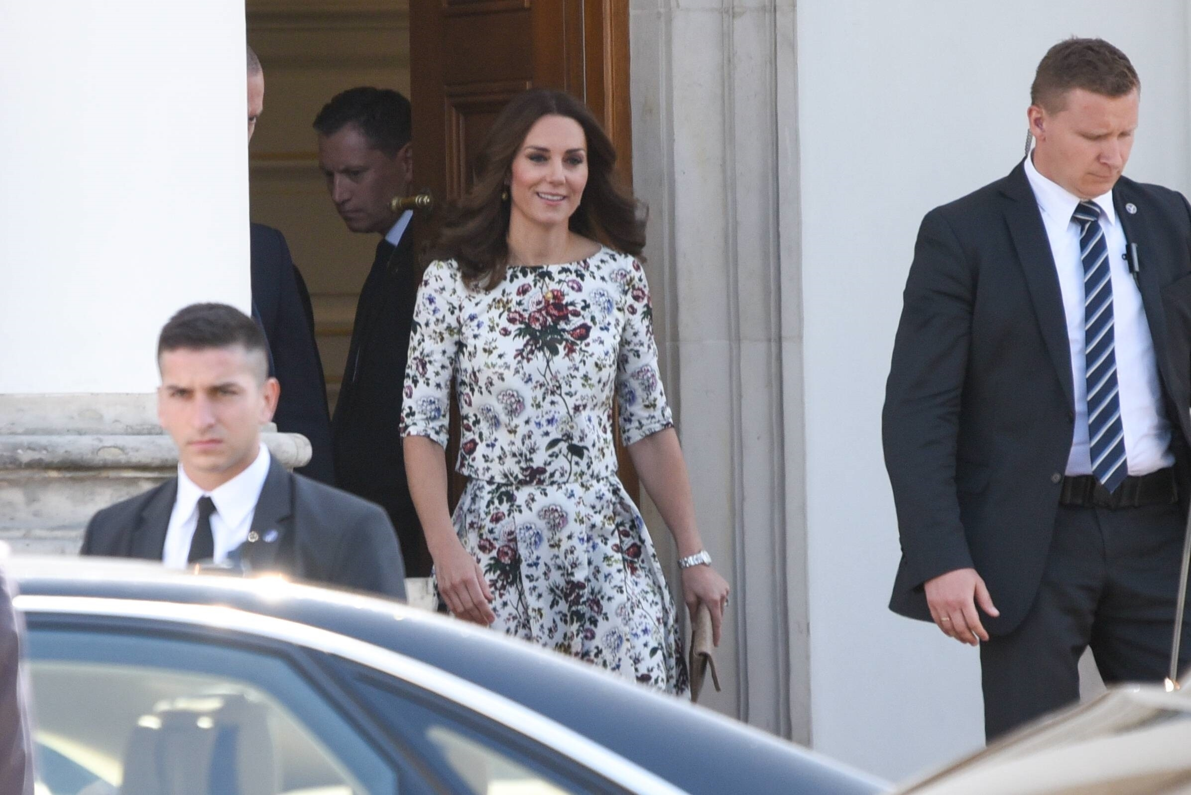 Kate Middleton and Prince William attend an event in Poland