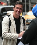 Ryan Lochte leaving his hotel in TriBeCa