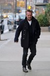 John Mellencamp smoking in TriBeCa