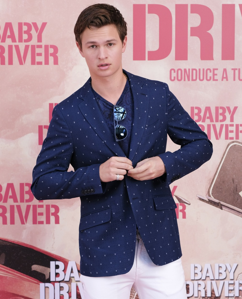 Madrid photocall for 'Baby Driver'