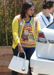 Mindy Kaling leaves Little Beach House Malibu restaurant with her parents