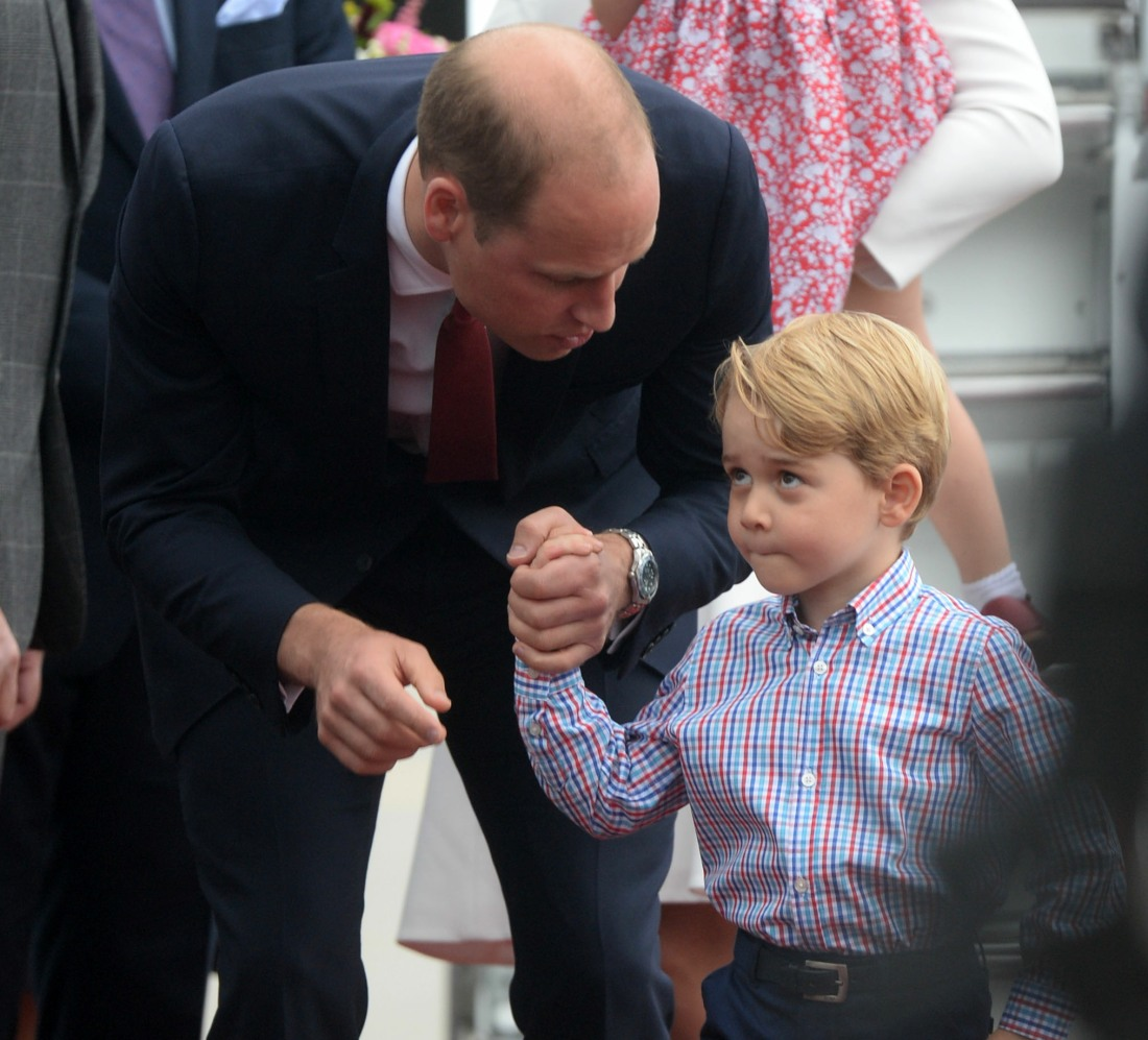 Will Prince George Use Mountbatten Windsor Or Cambridge As