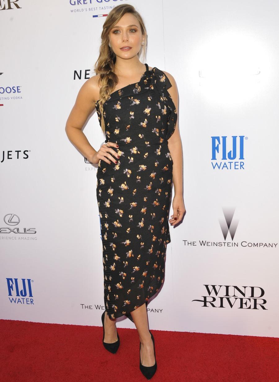 Elizabeth Olsen in Roland Mouret at 'Wind River' LA premiere: lovely or meh?