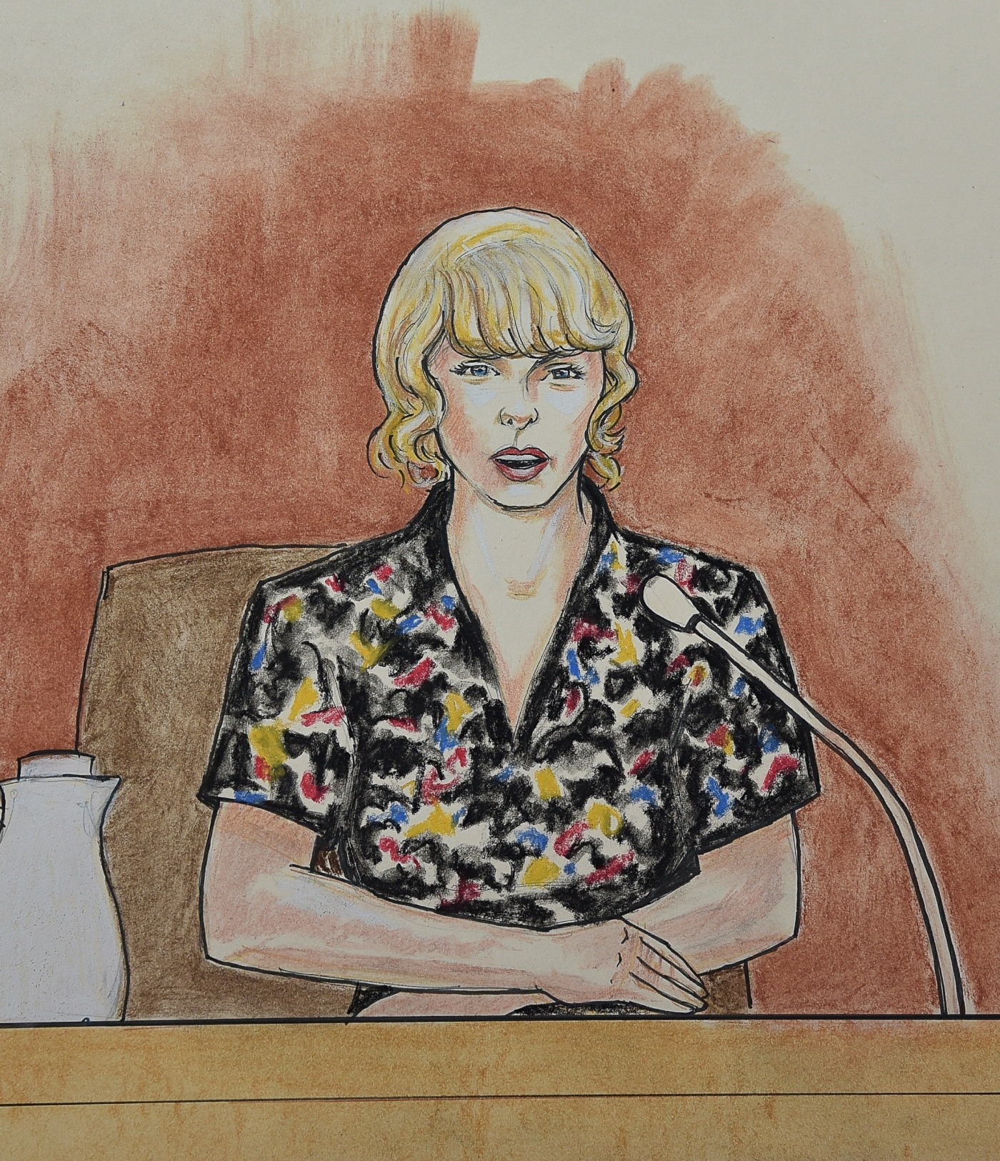 Taylor Swift takes the stand during 'Groping' trial