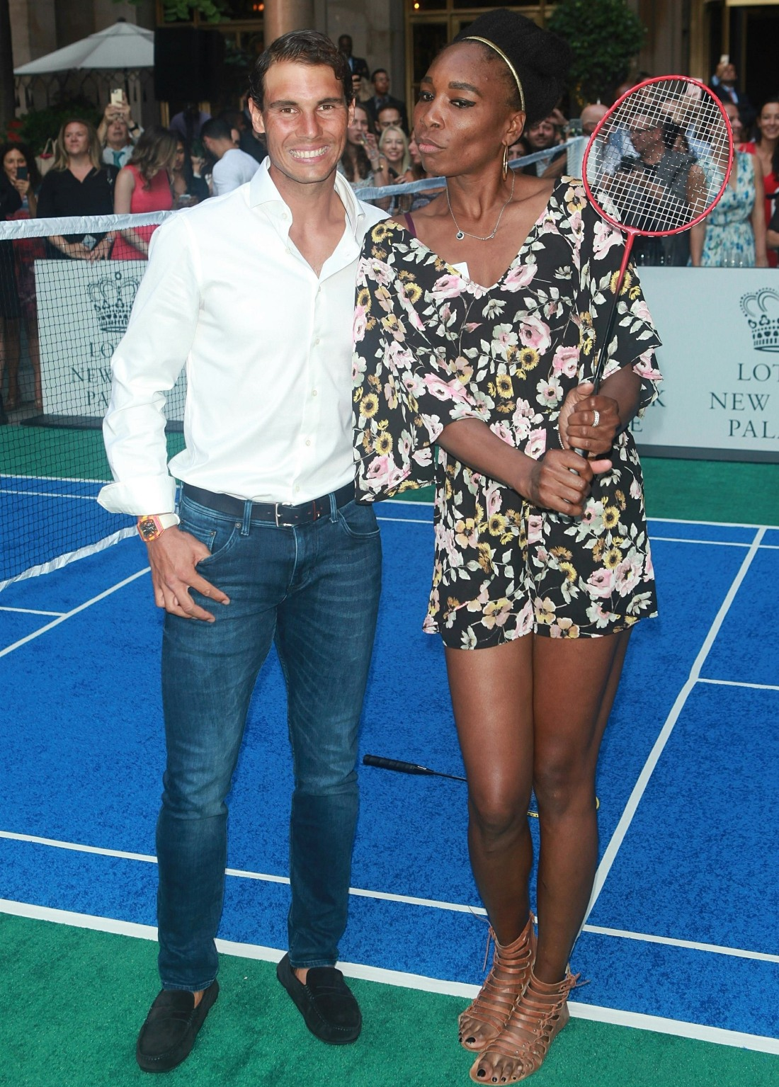 Venus Williams attends the 2017 Lotte New York Palace Invitational