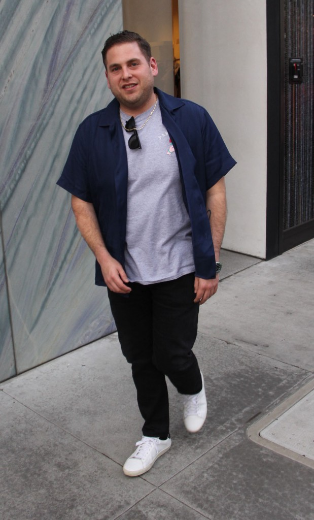 Jonah Hill out shopping in Beverly Hills