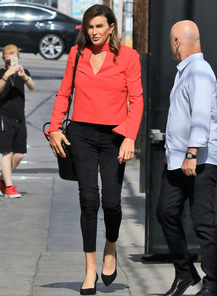 Celebrities arrive at the 'Jimmy Kimmel Live!' studios