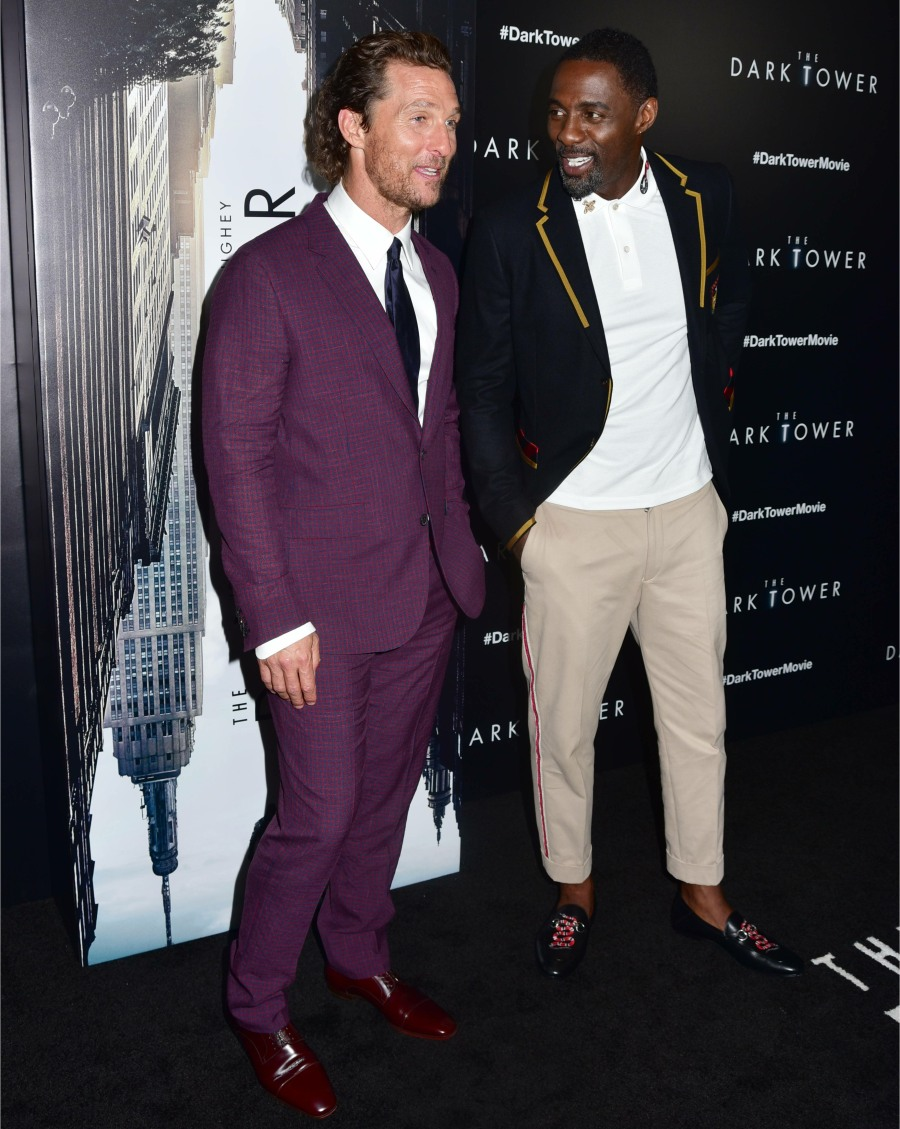 New York premiere of 'The Dark Tower' - Arrivals