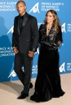 Jeremy Meeks and Chloe Green attend the Inaugural 'Monte-Carlo Gala For The Global Ocean' Honoring Leonardo DiCaprio at The Monaco Garnier Opera on September 28, 2017 in Monaco, Monaco.USA, OZ, NZ, SOUTH AFRICA, JAPAN AND CHINA ONLY Photograph: © CRYSTAL,