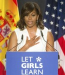 'Let Girls Learn' conference at Matadero cultural center